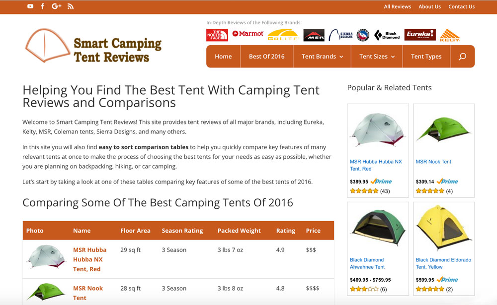 Smart Camping Tent Reviews