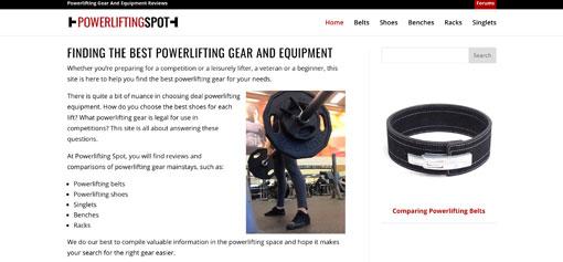 Powerlifting Spot